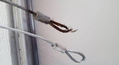 Frayed Garage Door Cables
