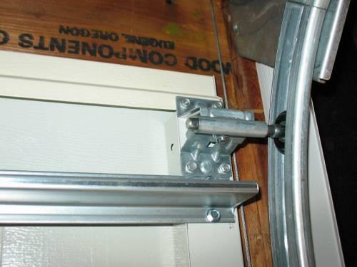 Garage Door Hinge and Roller